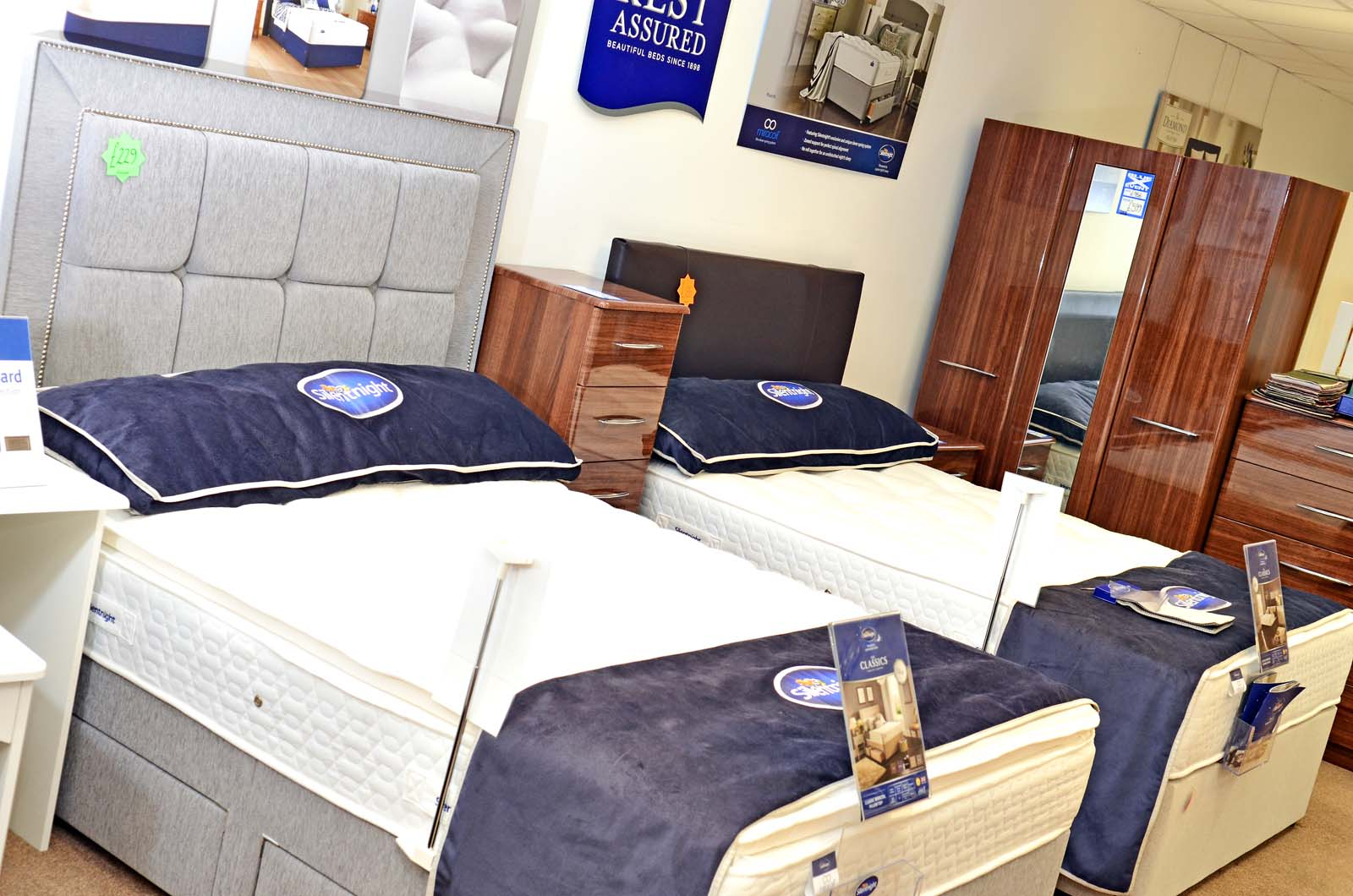 carpet smart beds