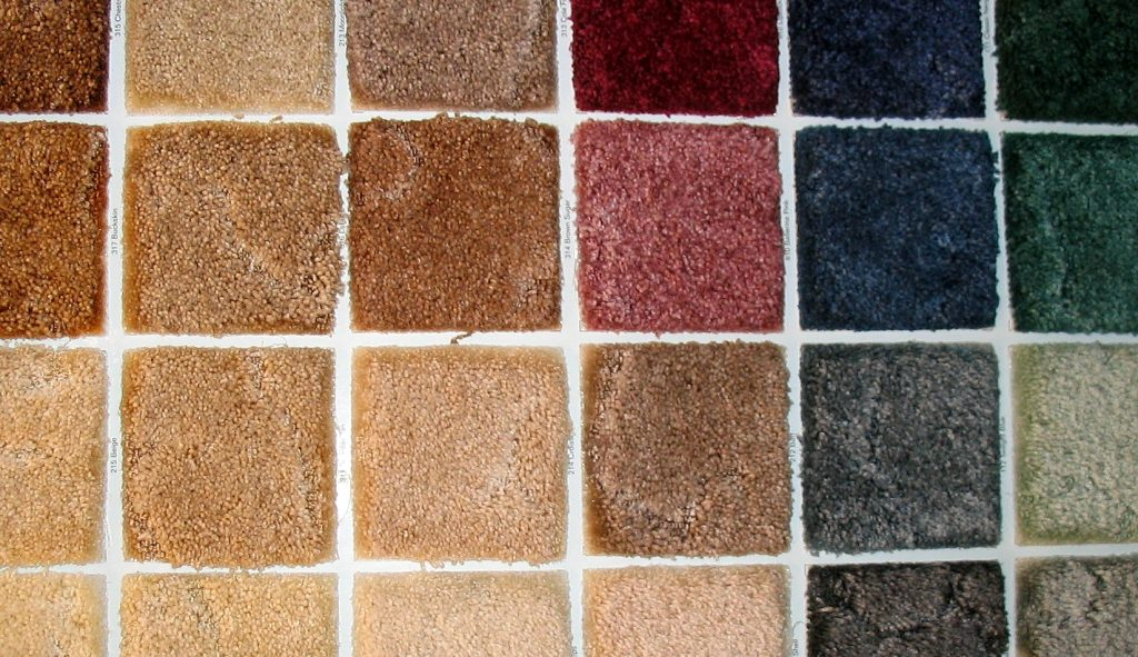 carpet swatches